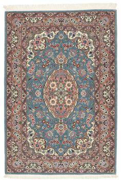 Ilam Sherkat Farsh zijde tapijt TBH38