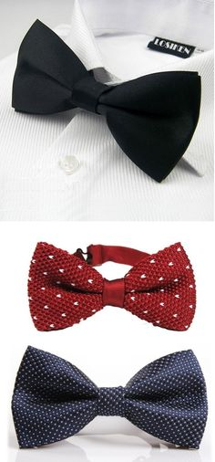 ¡Las #corbatas de #moño estan de vuelta! Encuéntralos en nuestro sitio.