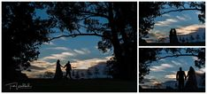 Creative Bride & Groom Sunset Silhouette   Sandalford Winery   Swan Valley Wedding   Trish Woodford Photography Rain And Thunderstorms, Sunset Silhouette, Wedding Portraits, Family Photographer, Bride Groom, Swan, Fall Wedding, Wedding Photography, Weddings
