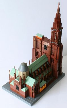 Cathedral of Strasbourg : Aerial view (B)