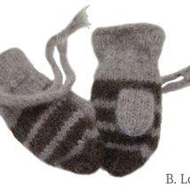 Abalone og STRIKKEBEA - Epla Gloves, Shopping, Mittens