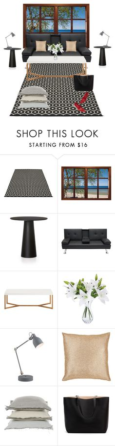 """""""this is my living room...."""" by natalyholly on Polyvore featuring interior, interiors, interior design, home, home decor, interior decorating, Pappelina, Moooi, Lite Source and Aviva Stanoff"""