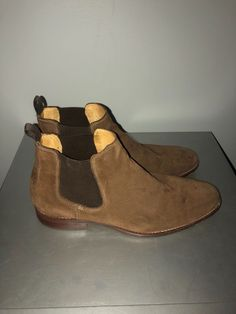 bf6a89e77c08 jonhston murphy garner chelsea boots us size 11.5  fashion  clothing  shoes   accessories