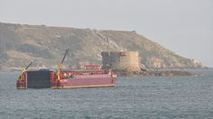 The barge Terra Marique delivered a  360-tonne electricity generator for Guernsey's power station over three days. After delays caused by bad weather, the vessel arrived in St Sampson's Harbour on Saturday, 1 September 2012.