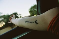 Tattoo<3 my mom used to always read goodnight moon to me when i was a kid, its my favorite book.hannahfresia.tumblr.com? Tattoo~
