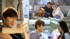 "Lee Min Ho Makes Comeback with Chinese Mini Drama ""One LINE Love"" for Mobile Messenger App LINE"