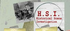 H.S.I. Historical Scene Investigation--based on CSI...great site for social studies teachers who allow students to use the Internet for research.