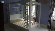 Fantasztikusan néz ki ez az ágy, esetleg egy led csík még jobban feldobná. Bunk Beds, Led, Furniture, Home Decor, Decoration Home, Loft Beds, Room Decor, Home Furnishings, Home Interior Design