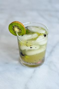 kiwi blueberry mojit