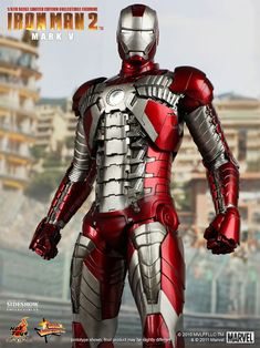 Iron Man Mark V Sixth Scale Figure