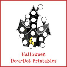 HalloweenDo-a-Dot Printables with 27 activity pages Perfect for kids ages 2+ Instant digital downloads product in PDF format Supports the development of one-to-one correspondence, shapes, colors, patterning, letters, and numbers
