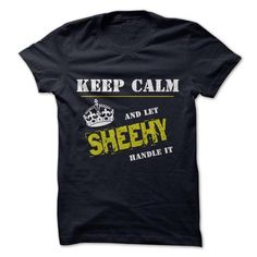 Cool Let SHEEHY Handle it T shirts
