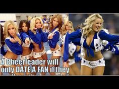 The Dallas Cowboys Cheerleaders Wearing Nfinity Shoes - YouTube