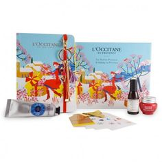 COFRE COLECCIÓN NAVIDAD Occitane En Provence, Stickers, Packaging, Books, Charlotte, Art, Ideas, Safe Room, Xmas