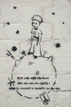 """from the book """"the little prince"""" by antoine de saint-exupery"""