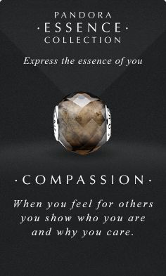 Express the essence of you. #PANDORAessencecollection #PANDORAcharm #Compassion