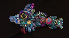 The Fantastic Bead Mosaics SEAlife Series The Grand by bluemoose, $225.00