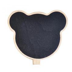 Bear Message Board - Black Black - One Size