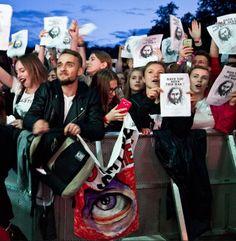 Laura Palmer Bastille Czad Festival 2017 Poland <3