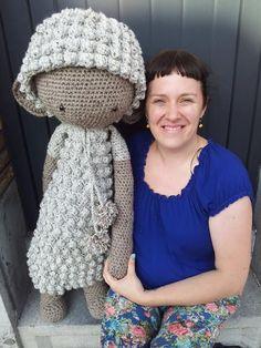LUPO the lamb made my Sandra M. / crochet pattern by lalylala