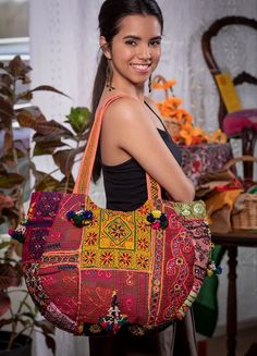 Marigold - Gateway to India Clothing, Accessories, Gifts, Home and Jewelry Marigold, India, Shoulder Bag, Tote Bag, Gifts, Bags, Accessories, Clothes, Jewelry