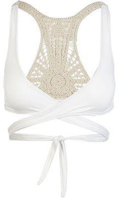 dc1db3715d L Space Joey Wrap Bikini Top - Women s White L