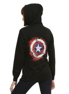 Marvel Her Universe Captain America: Civil War Girls Hoodie | Hot Topic