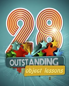 28 really unique & fun Object Lessons for Sunday School or Childrens Church