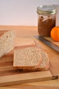 100% Whole Wheat Sandwich Bread and other bread and muffin recipes