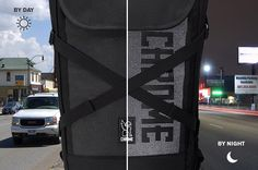 Chrome Bravo Night review: This premium roll-top is the goth ninja of backpacks | TechHive