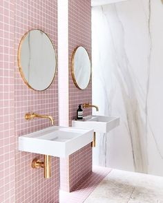 "138 Likes, 4 Comments - Queensland Homes (@queenslandhomes) on Instagram: ""Perfectly pink – this is just one of our fave #Pinterest pics, if you want to check out the rest…"""