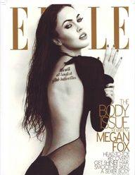 Megan Fox for Elle June 2009 Megan Fox Hot, Megan Fox Style, Megan Denise Fox, Megan Fox Photoshoot, Megan Fox Pictures, Elle Us, Fashion Magazine Cover, Magazine Covers, Body Issues