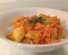 Recipe Easy Coconut Curry Chicken by rachelwelburn - Recipe of category Main dishes - meat