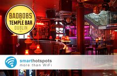 Free Social WiFi in Bad Bobs of Temple Bar, thanks to smarthotspots Temple Bar, Marketing Opportunities, Customer Engagement, Bobs, Wifi, Free, Bob Hairstyle, Bob, Bob Cuts