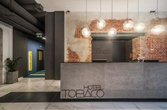 lodz_poland_tabaco hotel by concre/\te design, via Behance