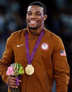 Jordan Burroughs - won Gold freestyle wrestling