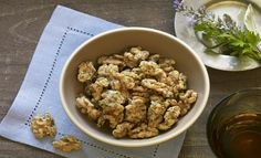 Parmesan Herbed Walnuts  - low carb snack!