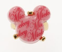 Mickey Mouse Pink Ring Q-Pot Japan
