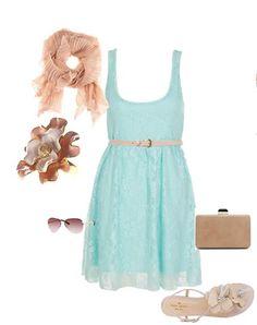Summer outfit! #PrimerasVecesByCyzone