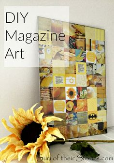 Simple Collage, Simple Wall Art, Diy Wall Art, Diy Art, Collage Art, Collage Ideas, Easy Wall, Magazine Collage Walls, Magazine Wall Art
