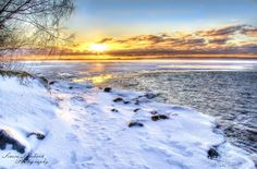 Sunrise over Sotkamo