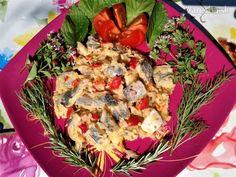 Šalát z ruských sardiniek - originál (fotorecept) - Recept