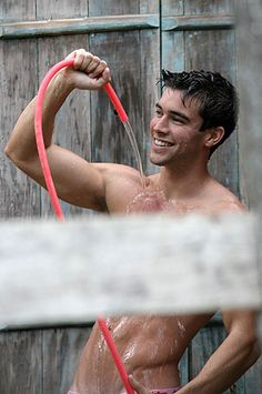 very hot guy soaking himself Gorgeous Men, Hot Guys, Handsome, Model, Photography, Anatomy, Water, Gripe Water, Photograph