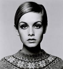 Twiggy, supermodel from the 60's who was the first model to be stick-thin.