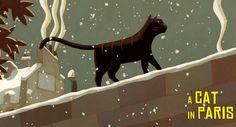 Cultural Synergy: A Cat in Paris (Une Vie de Chat, 2010)