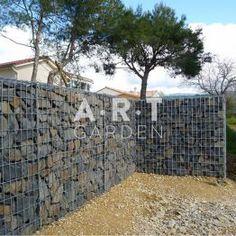 Panneau gabion gris 1 98 x h 0 90 m castorama panneau for Castorama gabion
