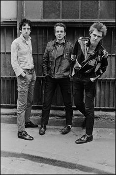 British punk group The Clash in north London April 1977 Left to right... News Photo 183967033