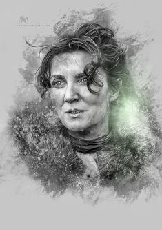 Catelyn Stark by Etiënne Ripzaad