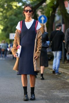 60 Head-To-Toe-Amazing Street Style Snaps From Milan Fashion Week #refinery29