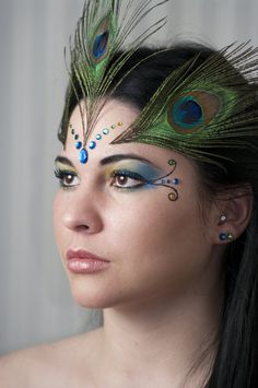 Plume de paon - Maquillage de la mariée - Ma tasse de thé // Les yeux du Paon (TPMM)
